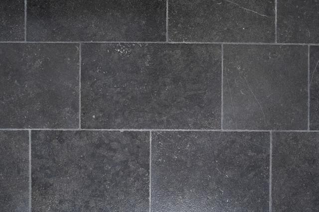 Pierre noir tile contemporain carrelage sol et mur portland par ann sacks - Textuur carrelage noir ...