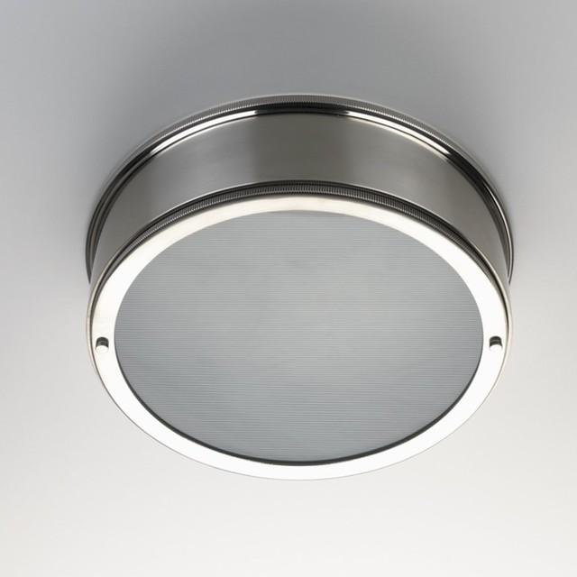 Ceiling Mounted Round Lighting - Eclectic - Bathroom Vanity Lighting - other metro - by Waterworks