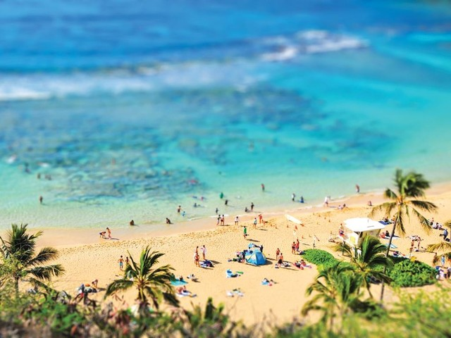 'Hawaiian Beach' Limited Edition Print contemporary-prints-and-posters