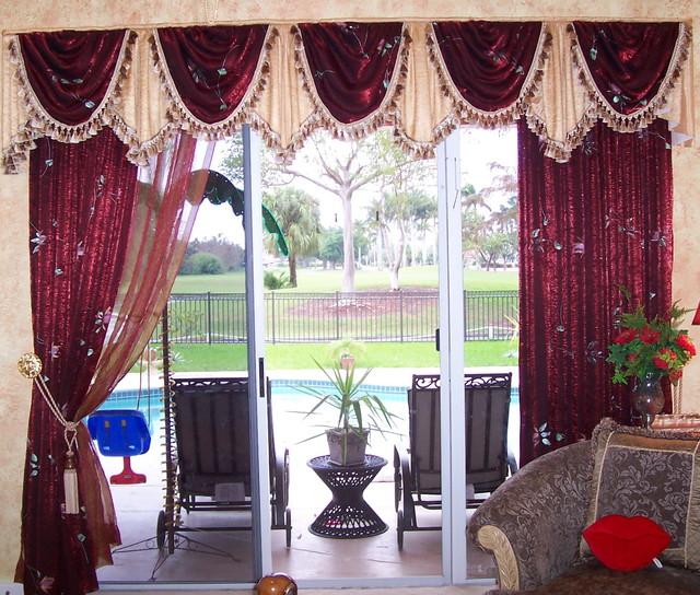 Mediterranean Style Windows Viendoraglass Com: Traditional Style Window Treatment