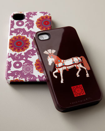 iomoi Patterned iPhone 4/4s Case traditional-home-electronics
