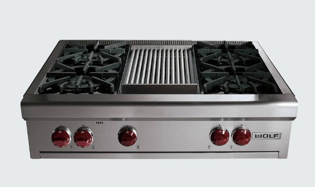 Wolf 36 Gas Cooktop Reviews