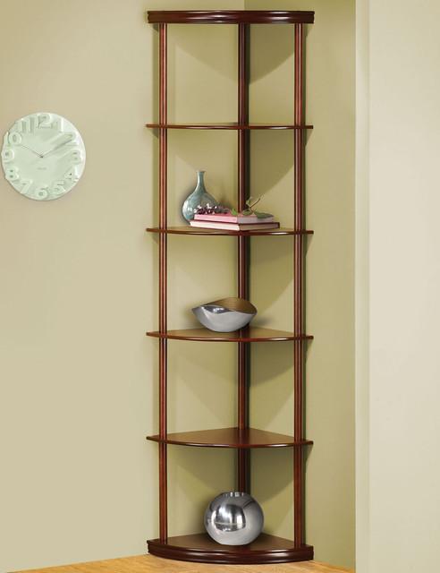 800280 corner shelf modern display and wall shelves by modern furniture warehouse - Contemporary corner shelves ...