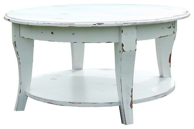 Parker Coffee Table Nautical Outer Banks Coastal 42x 42 X 18 Traditional Coffee Tables