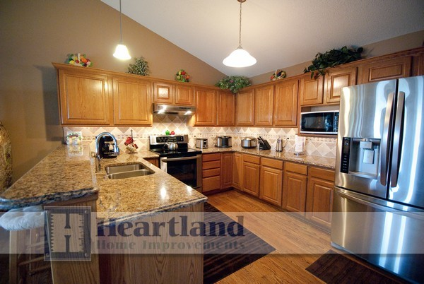 Kitchens by Heartland Home Improvements traditional-kitchen