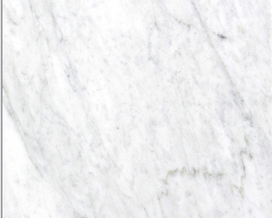 Marble Bianco Canal Grande Honed Tile - LIGHT GREY BACKGROUND COLOR WITH ASH GREY VEINS AND A HINT OF GOLD. Visit Website for available sizing.