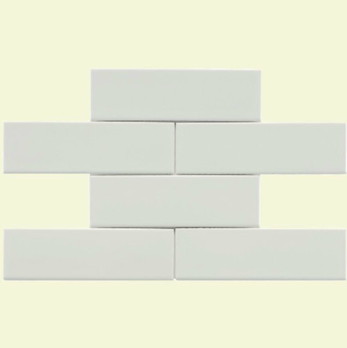 Merola Metro Chelsea Subway White traditional kitchen tile