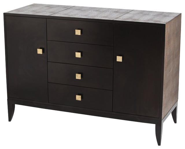 Elle Credenza Transitional Buffets And Sideboards By