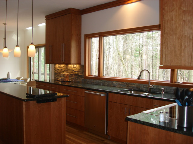 Window wall modern kitchen cleveland by architectural justice