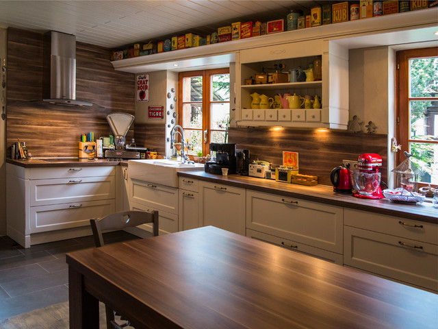 Cuisine de style campagnard traditional-kitchen
