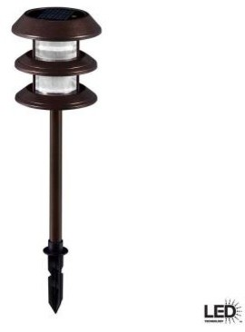 Hampton Bay Outdoor Lighting. 3-Tier Outdoor Heritage Solar LED