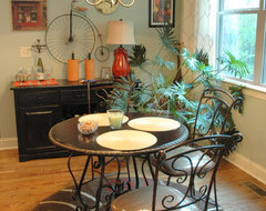 Willow Springs Color and Design eclectic dining room