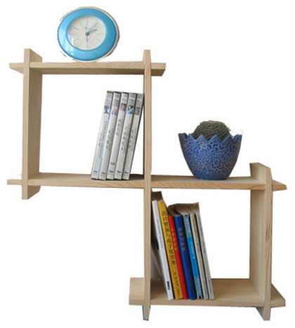Book Racks Storage Racks Wooden Wall Shelves Modern