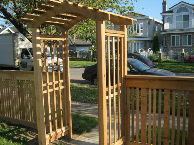 front yard fence vancouver b c other metro by quality. Black Bedroom Furniture Sets. Home Design Ideas