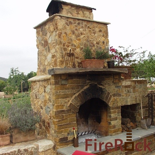 FireRock Outdoor eclectic patio