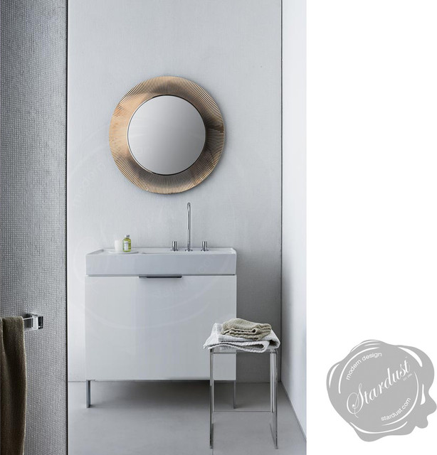 Kartell All Saints Round Wall Mirror - Contemporary - Bathroom Mirrors - san francisco - by ...