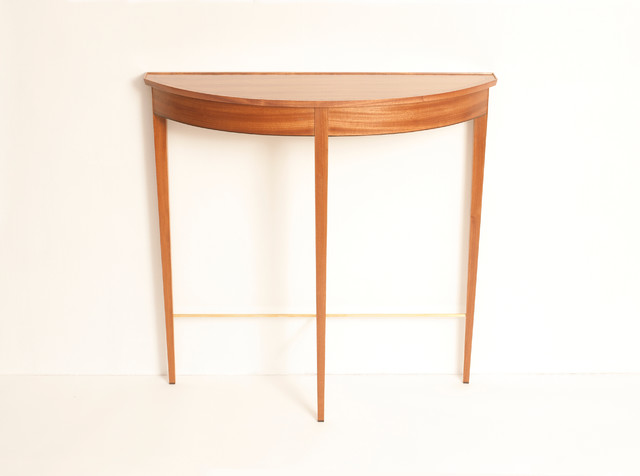 Foyer Table Toronto : Demi lune entryway table traditional side tables and