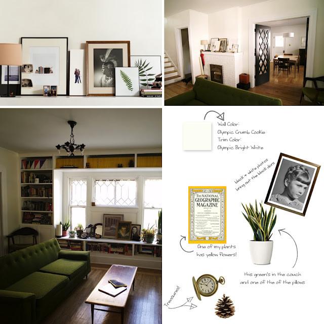 Living Room Built Ins eclectic