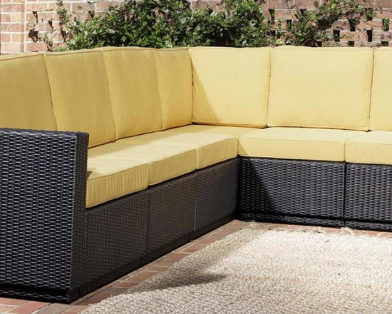 Home Styles Riviera Six Seat Sectional - Harvest -