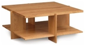 Frank Lloyd Wright® Usonian™ Square Coffee Table modern-coffee-tables