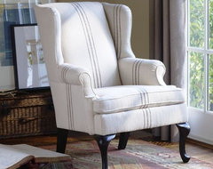 Gramercy Wingback Chair modern armchairs