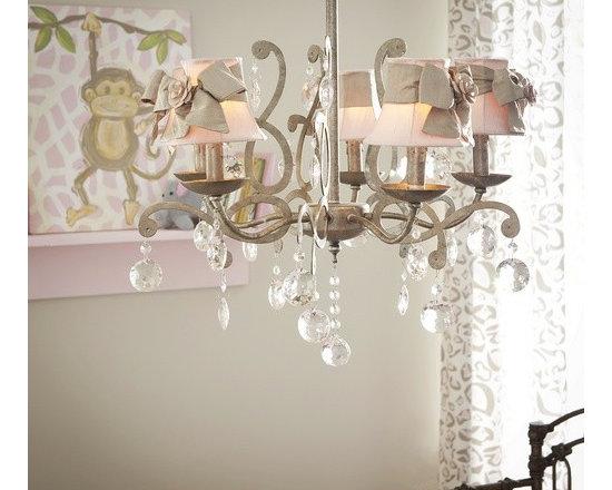 Elegance 5 Light Chandelier Grey -