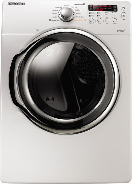 Samsung 7.3 cu ft Dryer (white) - Modern - Dryers - other metro - by Lowe's Home Improvement