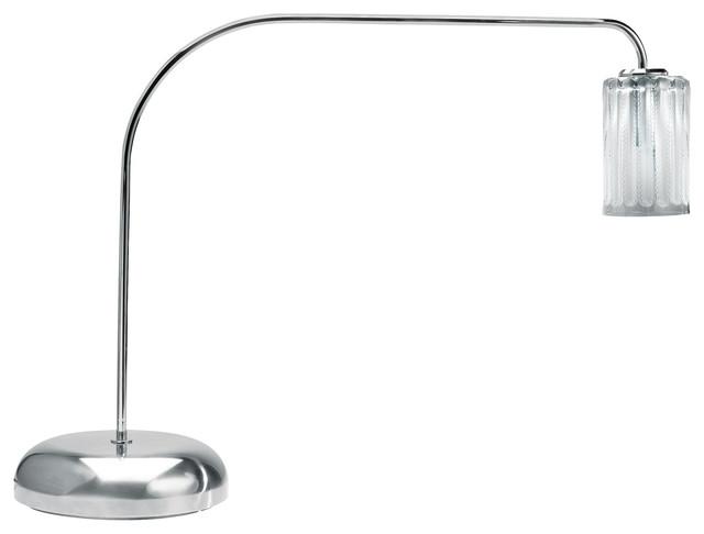 Lalique Jaffa Desk Lamp Chrome desk-lamps