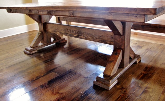 Rustic Elements Furniture traditional-dining-tables