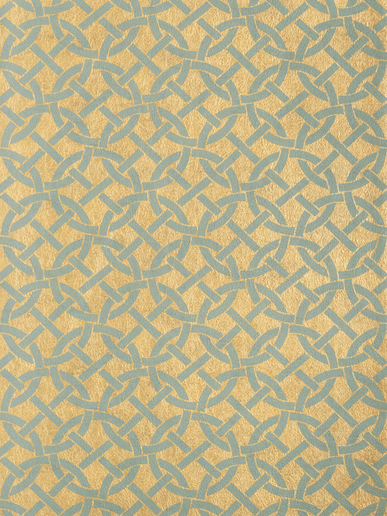 Texture Resource Volume 4 - Flat Shots - Bal Harbour wallpaper in Patina (T14100) from Thibaut's Texture Resource Volume 4 Collection