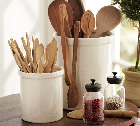 Rhodes Kitchen Crock modern-utensil-holders-and-racks