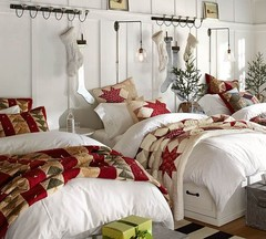 Red Star Patchwork Quilt & Sham | Pottery Barn
