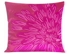 Kyoto Embroidered Pillow Cover contemporary-decorative-pillows