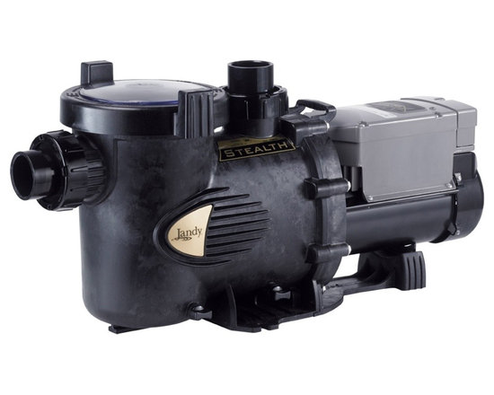 Jandy ePump Variable Speed Pump - The Stealth™ ePump's eight variable speeds and high effciency motor make it the quietest and most efficient pump available, saving a tremendous amount on energy costs