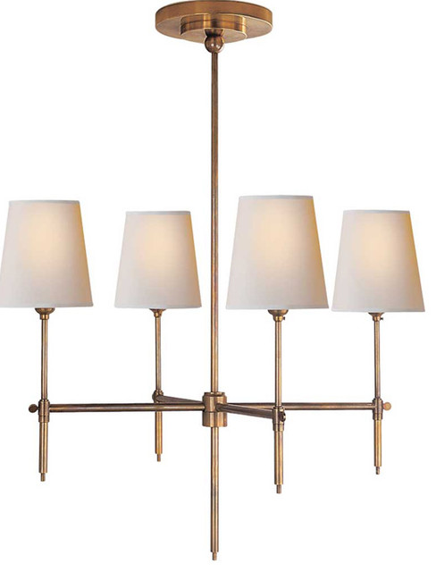 Bryant Small Chandelier | Circa traditional-chandeliers