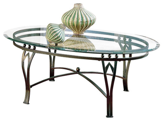 Steve Silver Madrid 2 Piece Occasional Table Set in Bronze contemporary-coffee-tables
