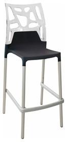 Papatya | Ego Rock Bar Stool, Set of 4 modern-bar-stools-and-counter-stools