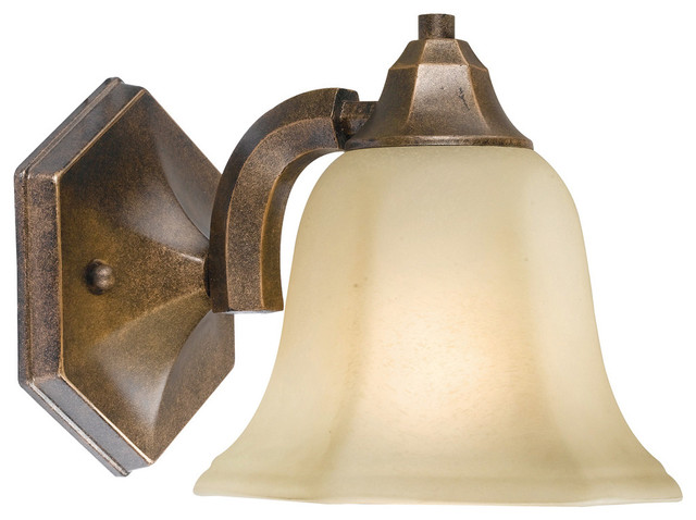Belle Foret Model Hallsburg Bath Collection - BF4381 1 Light Sconce  bathroom lighting and vanity lighting