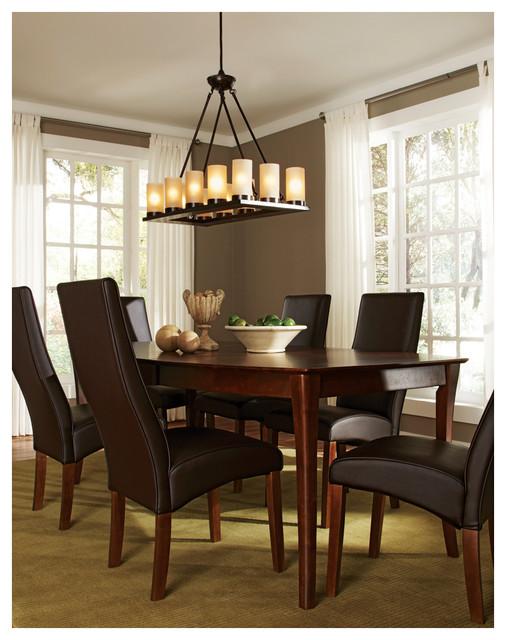 twelve light rectangle chandelier chandeliers by sea gull lighting. Black Bedroom Furniture Sets. Home Design Ideas