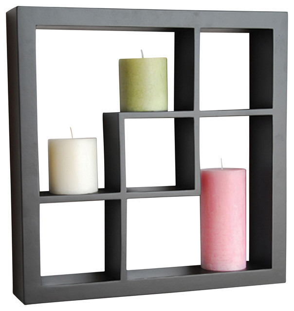 Welland Madison Display Cube Shelf Wall Floating Shelving ...