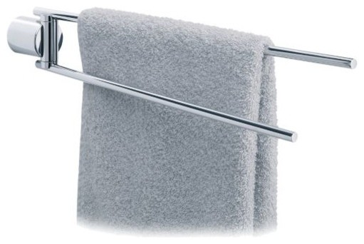 DUO 2-Arm Towel Rail by Blomus modern-towel-bars-and-hooks