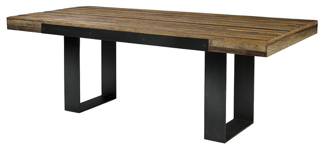 Graham Industrial Dining Table eclectic dining tables