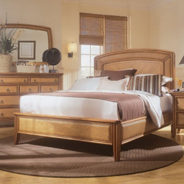 American Drew 931-333R Antigua Low Profile Bed 5/0 traditional-beds
