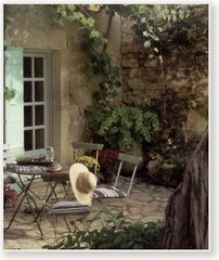 Outdoor Garden Rooms - French Country