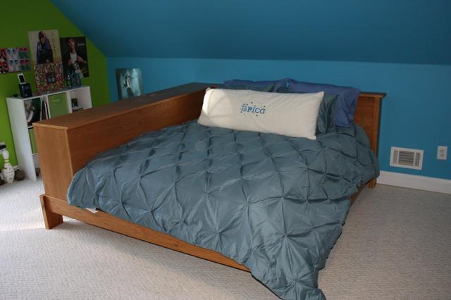 Platform bed- cherry beds