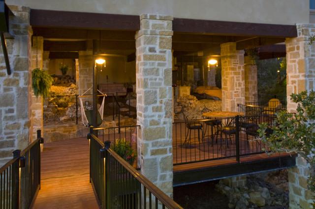 Outdoor Living by Stadler Custom Homes mediterranean