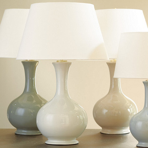 Suzanne Kasler Large Gourd Lamp Contemporary Lamp