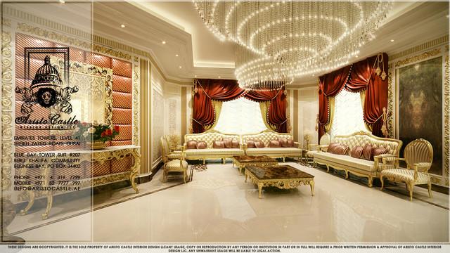 Luxury villas in dubai traditional other metro by for Villa interior design photos dubai