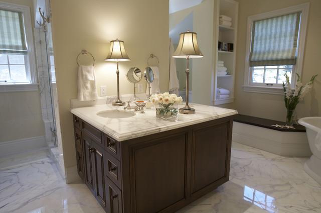 Tiburon home remodel traditional-bathroom