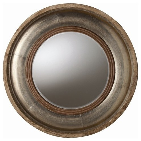 Arteriors Home - Kathleen Light Wood / Silver Foil Mirror - 6514 traditional-makeup-mirrors